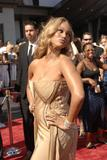 Tyra Banks shows big cleavage at 35th Annual Daytime Emmy Awards
