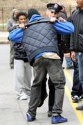 Лили Собески, фото 1169. Leelee Sobieski filming ''Rookies'' in NYC March 22, foto 1169