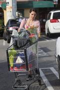 София Буш, фото 4214. Sophia Bush - tight pants and cleavage at Whole Foods in Hollywood 02/28/12, foto 4214