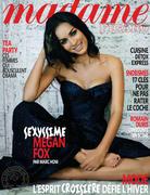 Megan Fox sensuelle et sexy en couv' de Figaro Madame - hot.curul.fr